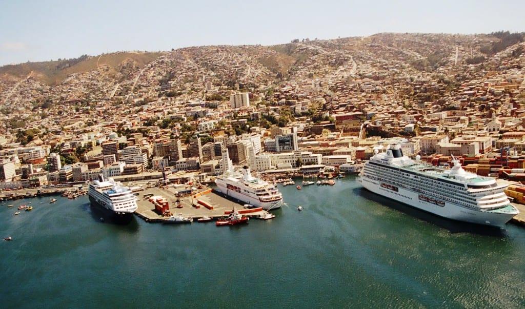Cruceros en Valparaiso