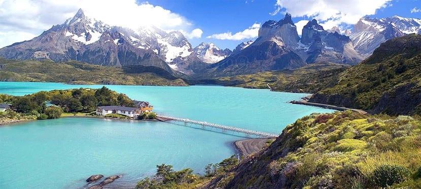 Paisaje de la Patagonia Chilena