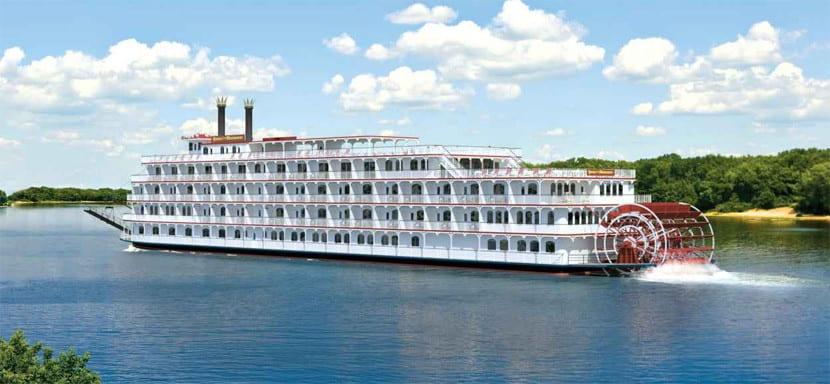 Imagen de un crucero fluvial