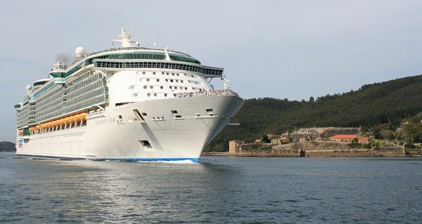 Localización de un crucero