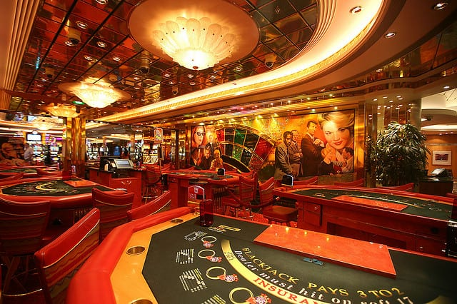 Un casino de película en el Liberty of the Seas