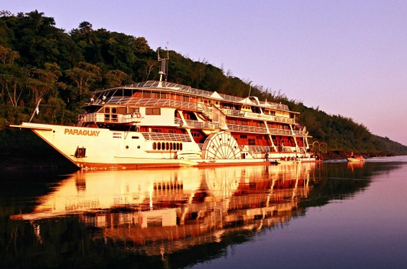 Hasta el Gran Pantanal en el crucero Paraguay