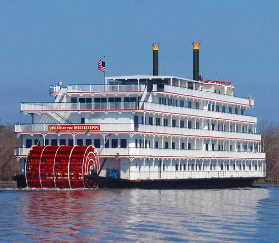 Queen of the Mississippi, un crucero fluvial como los de antaño