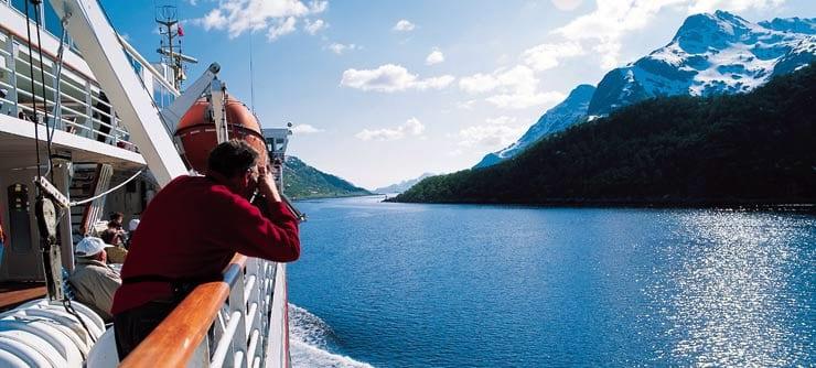 Cruceros por Noruega