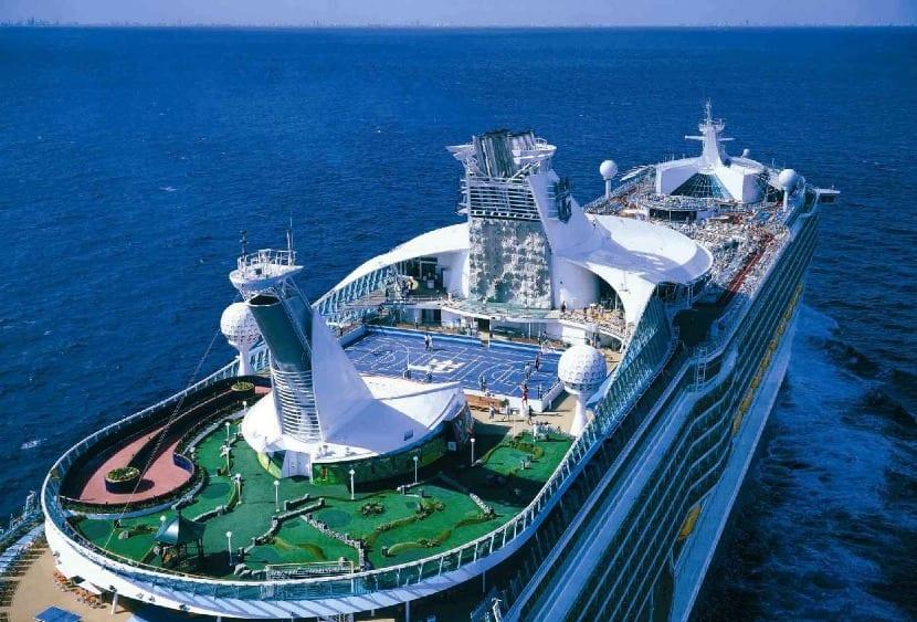 crucero lujo