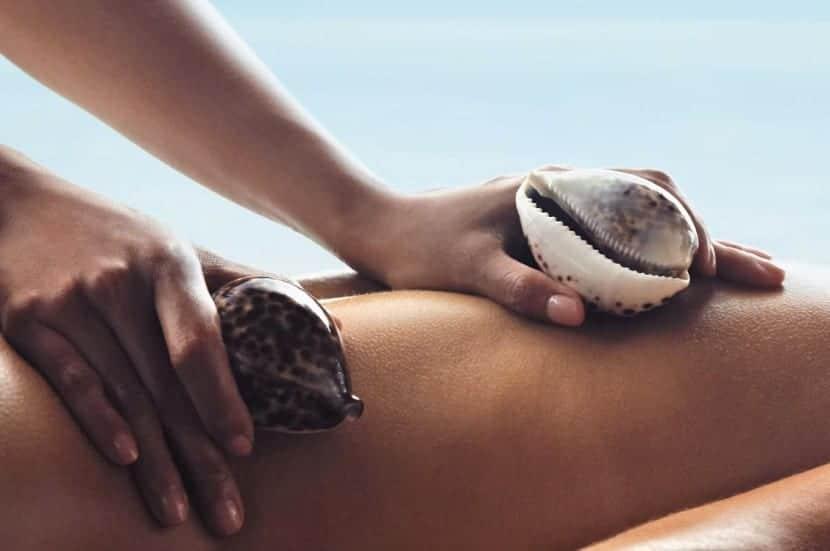 masaje conchas