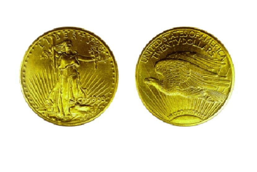 monedas de oro del republic
