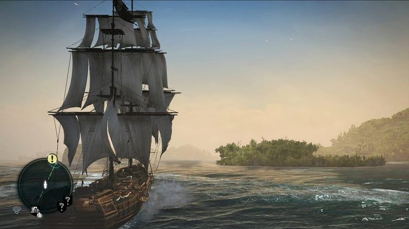 black flag juego de barcos