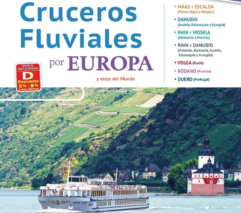 cruceros fluviales en la semana del crucero
