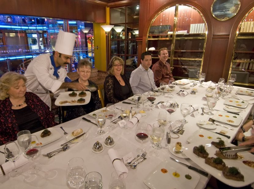 Chef S Table Food On Allure Of The Seas