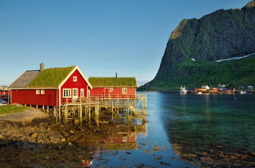 clima en los fiordos noruegos